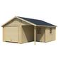 LASITA MAJA Blockgarage »Nevis«, B x T: 500 x 550 cm (Außenmaße ohne Dachüberstand)-Thumbnail
