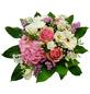 Blumenstrauß »Hortensie, Rosen, Germini, Lysianthus«, Ø 26–30 cm-Thumbnail