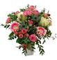 Blumenstrauß mit Rosen, Eukalyptus, Ø 35–40 cm-Thumbnail