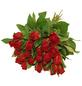 Blumenstrauß mit Rosen   in rot, Ø 35 cm-Thumbnail