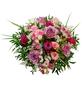 Blumenstrauß mit Rosen, Lysianthus, Strandflieder in rosa/pink, Ø 32–36 cm-Thumbnail