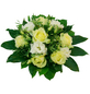 Blumenstrauß »Rosen, Lysianthus«, Ø 26–30 cm-Thumbnail