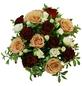 Blumenstrauß »Rosen, Lysianthus, «, Ø 35–39 cm-Thumbnail