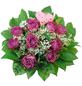 Blumenstrauß »Rosen, Schleierkrraut«, Ø 26–30 cm-Thumbnail