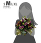Blumenstrauß »Saisonale Blumen«, Ø 26–30 cm-Thumbnail