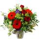 """Blumenstrauß »Saisonale Blumen """"Red Passion""""«, Ø 37–39 cm-Thumbnail"""