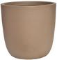 Vasar Blumentopf »Gubbio«, Breite: 30 cm, terrakottafarben, Kunststoff-Thumbnail