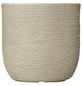 Vasar Blumentopf »Shabby«, Breite: 27 cm, beige, Kunststoff-Thumbnail