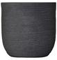 Vasar Blumentopf »Shabby«, Breite: 27 cm, granit-grau dunkel, Kunststoff-Thumbnail