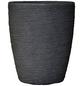 Vasar Blumentopf »Shabby«, Breite: 30 cm, granit-grau dunkel, Kunststoff-Thumbnail