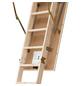 DOLLE Bodentreppe »DOLLE pur«, max. Raumhöhe 260 cm, Fichtenholz, U-Wert 1,6 W/(m²K)-Thumbnail