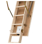 DOLLE Bodentreppe »DOLLE pur«, max. Raumhöhe 285 cm, Fichtenholz, U-Wert 1,6 W/(m²K)-Thumbnail