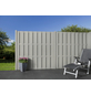 MR. GARDENER Bohlenzaun »Ibiza«, Aluminium/WPC, HxL: 180 x 180 cm-Thumbnail