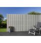 MR. GARDENER Bohlenzaun »Ibiza«, HxL: 180 x 180 cm, hellgrau-Thumbnail