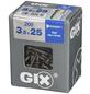 SPAX Bohrspitzschraube, 3,5 mm, Stahl, 200 Stk., GIX D 3,5x25 L-Thumbnail