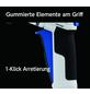 takagi Brause »GNZ101N11EX«, Länge: 25,8 cm, Kunststoff, weiß/blau/schwarz-Thumbnail