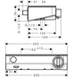 HANSGROHE Brause-Thermostat, Breite: 302 mm, Kunststoff/Metall/Sicherheitsglas-Thumbnail