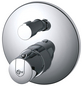 SANICOMFORT Brause-Thermostat, Messing-Thumbnail