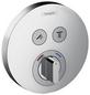 HANSGROHE Brausearmatur »ShowerSelect S«, Kunststoff | Metall-Thumbnail