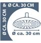 SCHÜTTE Brausekopf »Sumatra«, Durchmesser Kopfbrause  cm-Thumbnail