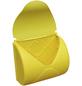 AKUBI Briefkasten, BxHxL: 23,3 x 14 x 25 cm, gelb-Thumbnail