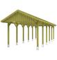 SKANHOLZ Carport, B x T x H: 380 x 900 x 313 cm, grün-Thumbnail