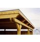 SKANHOLZ Carport, B x T x H: 404 x 604 x 242 cm, nussbaum-Thumbnail