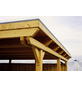 SKANHOLZ Carport »Emsland«, Außenmaß BxT: 365 x 738 cm, natur-Thumbnail