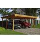 SKANHOLZ Carport »Emsland«, Außenmaß BxT: 574 x 496 cm-Thumbnail