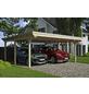 SKANHOLZ Carport »Emsland«, Außenmaß BxT: 574 x 496 cm, natur-Thumbnail