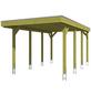 SKANHOLZ Carport »Friesland«, BxHxT: 314 x 241 x 555 cm, grün-Thumbnail