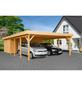 MR. GARDENER Carport »Heidelberg XL«, BxHxT: 600 x 230 x 900 cm, braun-Thumbnail