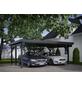 KIEHN-HOLZ Carport »KH 310«, Außenmaß BxT: 340 x 504 cm, weiß-Thumbnail