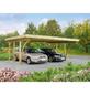 MR. GARDENER Carport »Köln 1«, BxHxT: 604 x 240 x 504 cm, braun-Thumbnail