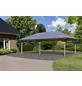 KARIBU Carport »Pavillon Carport«, Außenmaß BxT: 517,5 x 264,5 cm, natur-Thumbnail