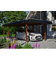 SKANHOLZ Carport »Wendland«, Außenmaß BxT: 315 x 738 cm, nussbaum-Thumbnail