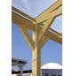SKANHOLZ Carport »Wendland«, Außenmaß BxT: 558 x 440 cm, schiefergrau-Thumbnail