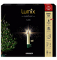 Krinner Christbaumkerzen Lumix Superlight Flame mini, Elfenbein, 12er-Thumbnail