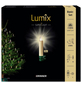 Krinner Christbaumkerzen Lumix Superlight mini, Elfenbein, 12er-Thumbnail