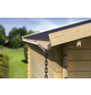 KARIBU Dachrinne für Gartenhäuser, Holz-Thumbnail