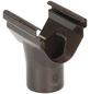 Dachrinnenhalter, Nennweite: 70 mm, halboval, Hart-PVC (PVC-U)-Thumbnail