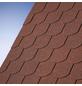 KARIBU Dachschindel, Bitumen, dunkelrot, Paketinhalt: 3 m²-Thumbnail