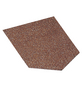 Dachschindel Bitumen rot 2m²-Thumbnail