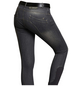 Schockenmöhle Sports Damenreithose Delphi Jeans FS, Größe: 42, graphit-Thumbnail