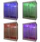 HOME DELUXE Dampfdusche »Design XL«, 3000 W-Thumbnail