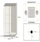 HOME DELUXE Dampfdusche »Luxory XL«, rechteckig, 120 x 220 x 120cm-Thumbnail