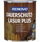 RENOVO Dauerschutzlasur, für außen, 0,75 l, braun, seidenglänzend-Thumbnail