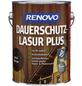 RENOVO Dauerschutzlasur, für außen, 2,5 l, braun, seidenglänzend-Thumbnail