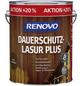 RENOVO Dauerschutzlasur »Plus« für außen, 4,8 l, Nussbaum, seidenglänzend-Thumbnail