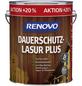 RENOVO Dauerschutzlasur »Plus« für außen, 4,8 l, Teak, seidenglänzend-Thumbnail